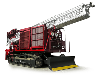 Foremost MDP1500 Tracked Exploration Drilling Rig exploration drills Exploration Drills MPD1500 cutout small