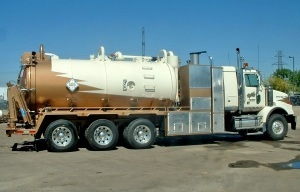 Foremost FVS1616 Code Combo Wash Vac Truck