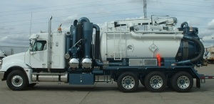 Foremost Code Hydrovac Truck
