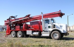 Foremost DR-12 Dual Rotary Drill Rig