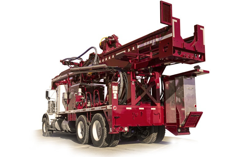 Foremost DR-24 Dual Rotary Drill Rig dr-24 DR-24 DR24 BIG