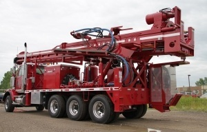 Foremost DR-24 Dual Rotary Drill Rig