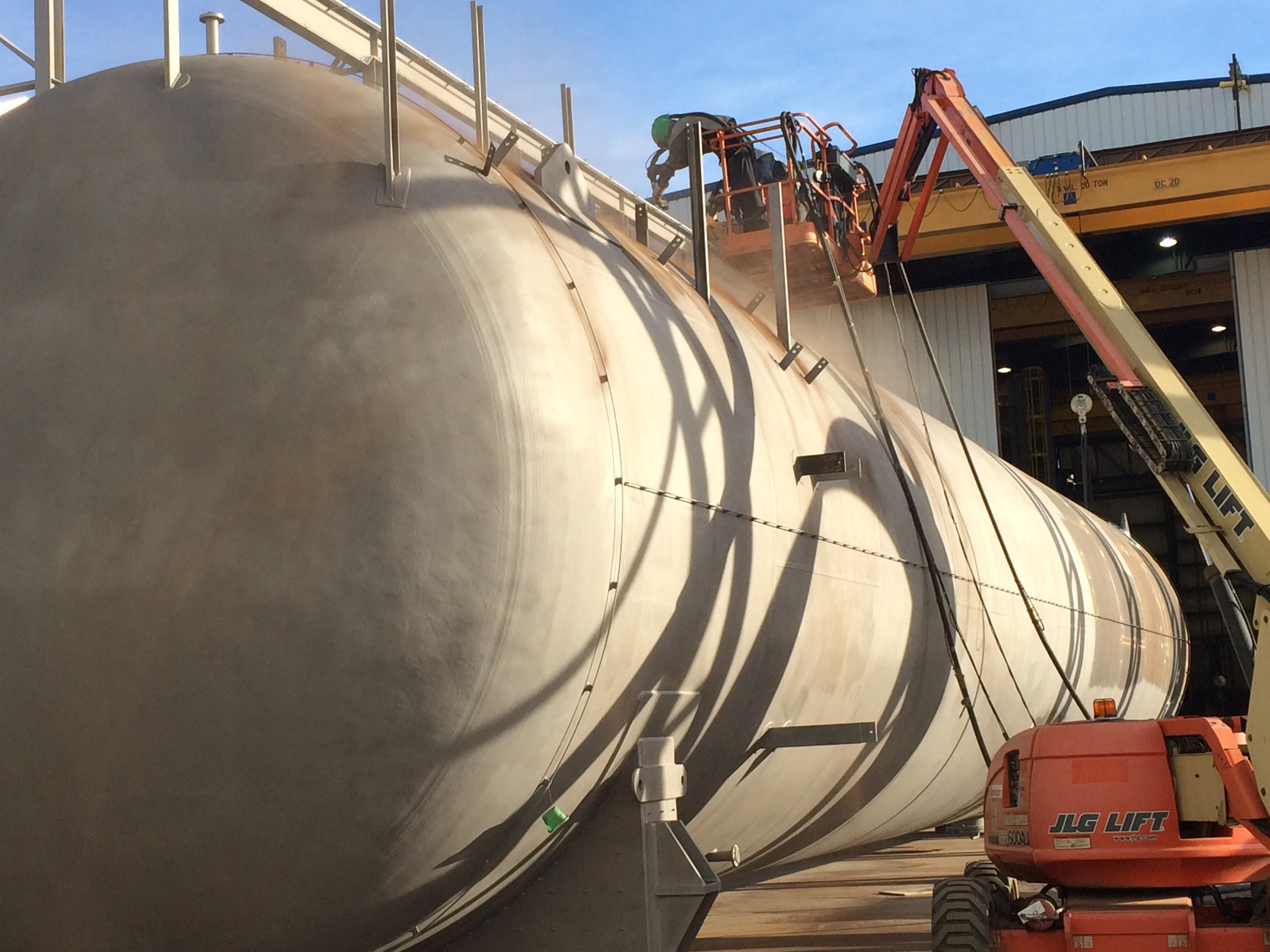 Industrial Coatings And Sandblasting Services Foremost