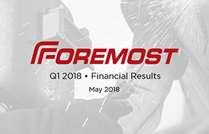 Foremost Q1 Results Financials Pic Q1 small