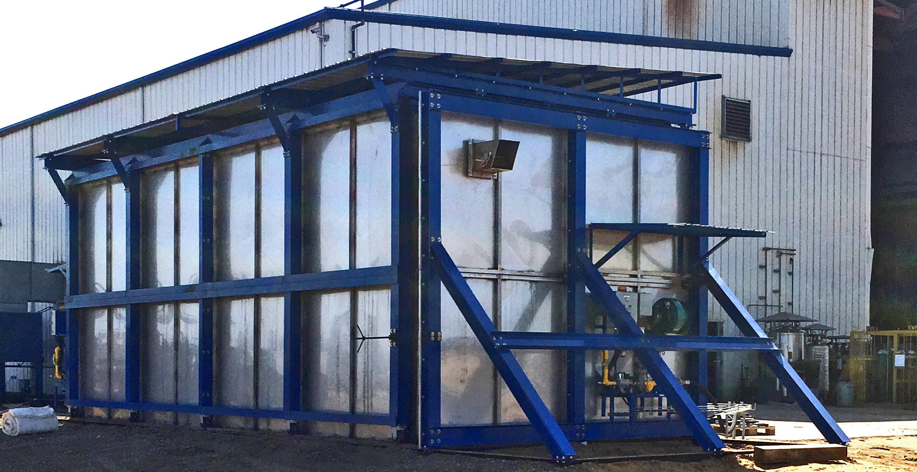 Post Weld Heat Treatment Oven (PWHT)