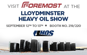 Foremost To Exhibit At Lloydminster Heavy Oil LloydOilShow THUMB