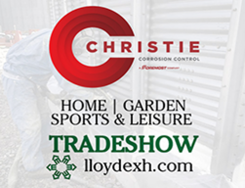 Christie Corrosion Control At The Lloydminster Home and Garden Show