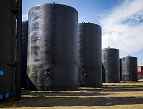 Stock Oil Tanks at Foremost